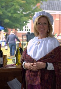 Amy Newton a Pillar of the Community, Dressed to Impress... if it were 1874